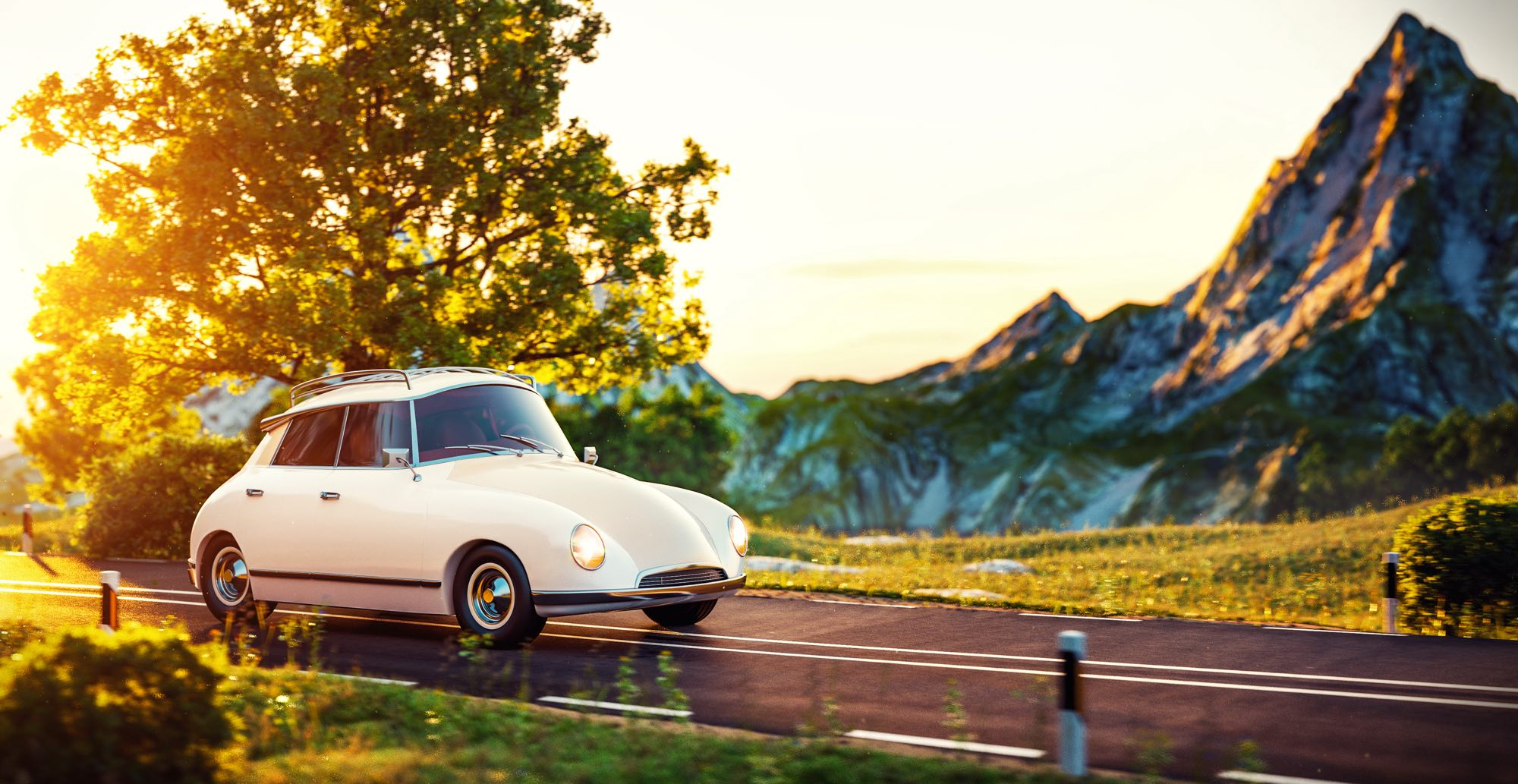 cute-little-retro-car-goes-by-wonderful-countrysid-PETSR2M